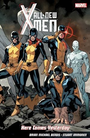 NEW X-MEN H.C. YESTERDAY