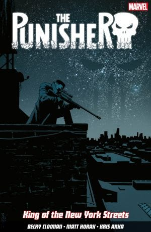 THE PUNISHER VOL.3 KING OF THE NEW YORK STREETS