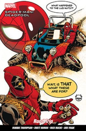 SPIDERMAN/DEADPOOL V.8 ROAD TRIP