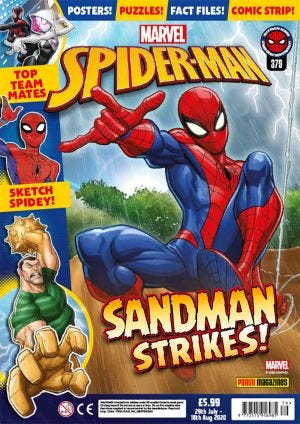 SPIDERMAN MAGAZINE N.379