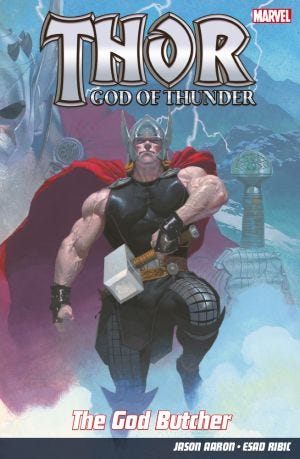 THOR: GOD OF THUNDER N.4