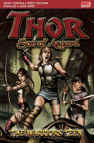 THOR PB - WARRIORS TEEN