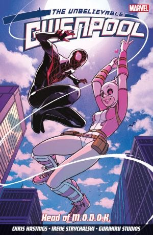 THE UNBELIEVABLE GWENPOOL VOL.2 HEAD OF M.O.D.O.K.