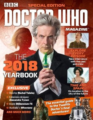 Doctor Who Special The 2018 Yearbook