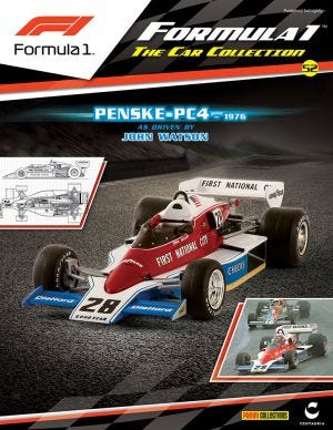 FORMULA 1 PART WORK 2016 N.52-PENSKE PC4