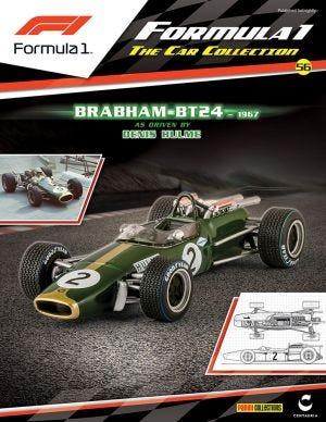 FORMULA 1 PART WORK 2016 N.56-BRABHAM BT 24