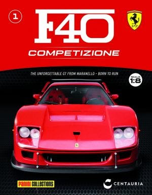 FERRARI F40 BUILD UP N.1