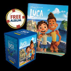 Disney Luca Movie Sticker Collection - Bundle of 50 packets + FREE Sticker Album