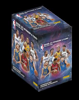 NBA 2020-21 Box of 50 Packets