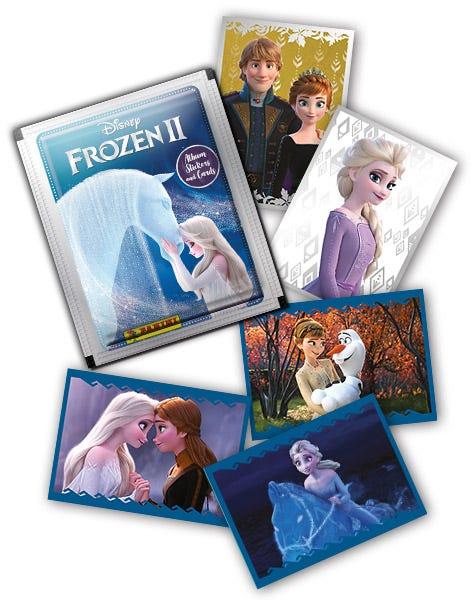 Sticker 87 Disney Die Eiskönigin Serie 2 Crystal 2020
