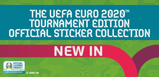 The UEFA EURO 2020 Tournament Edition Official Sticker Collection new products