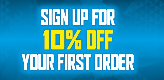 Sign up for 10% off your first order