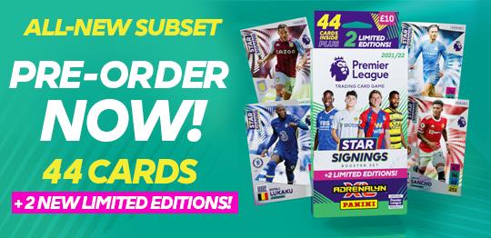 Premier League Adrenalyn XL Star Signings Pre-order